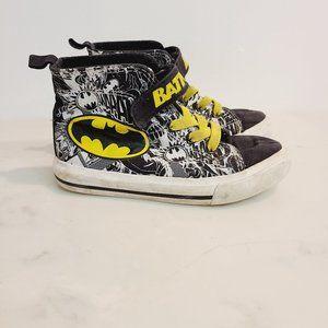 Batman DC Comics High Top Toddler Sneakers